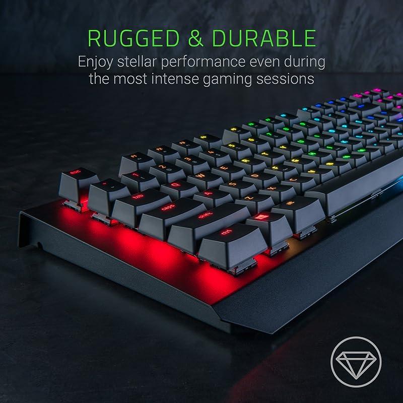 Razer BlackWidow X Chroma, Clicky RGB Mechanical Gaming Keyboard 1