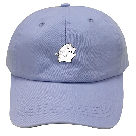 38b4d2fce4658 Cute Cat Adjustable Strapback Baseball Cap Cute Cat Unisex Dad Baseball Cap  Trucker Snapback Hat at Amazon Women s Clothing store