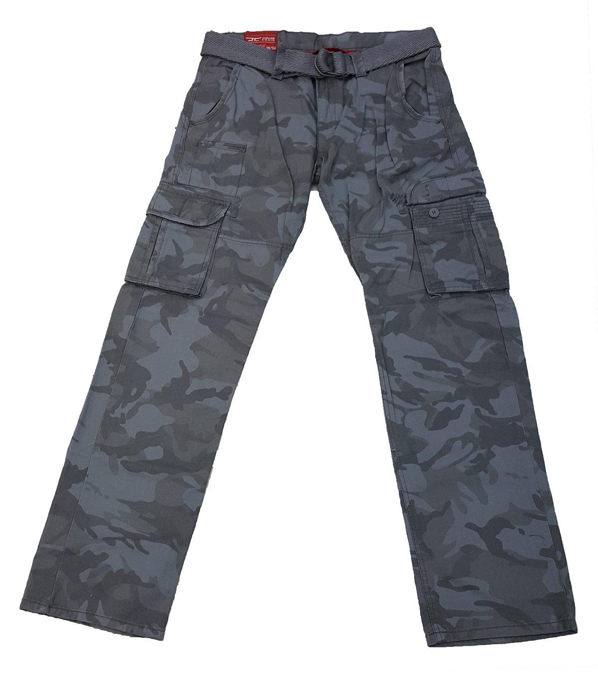 Jordan Craig Camo Pants Men (36x32) Grey
