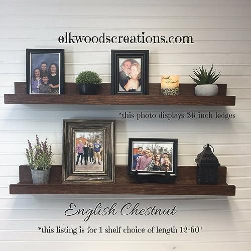 Amazon.com: Floating shelf, picture ledge shelf,12-60\