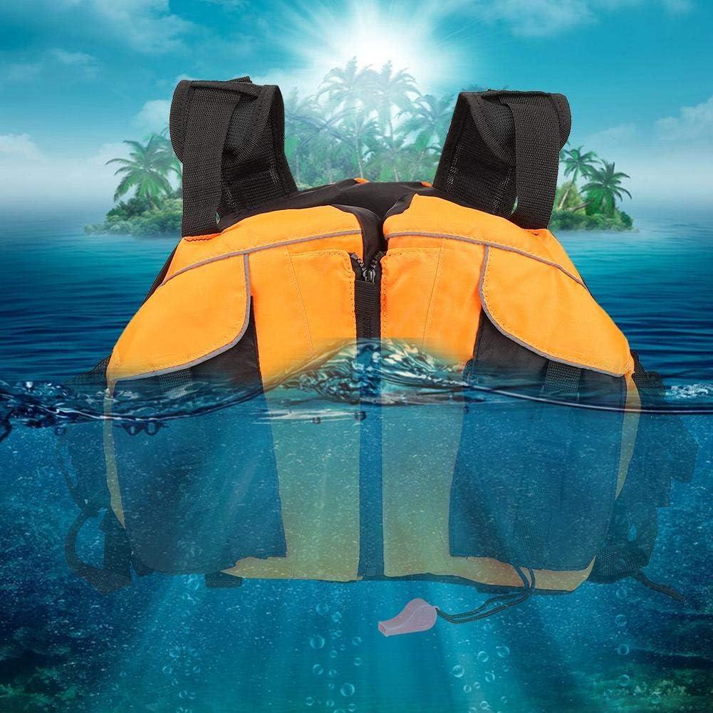 Abrigo Salvavidas Jarchii Chaleco a la Deriva para Kayak para Bote a la Deriva en Kayak Chaleco para Tabla de Surf de Guardia de navegaci/ón