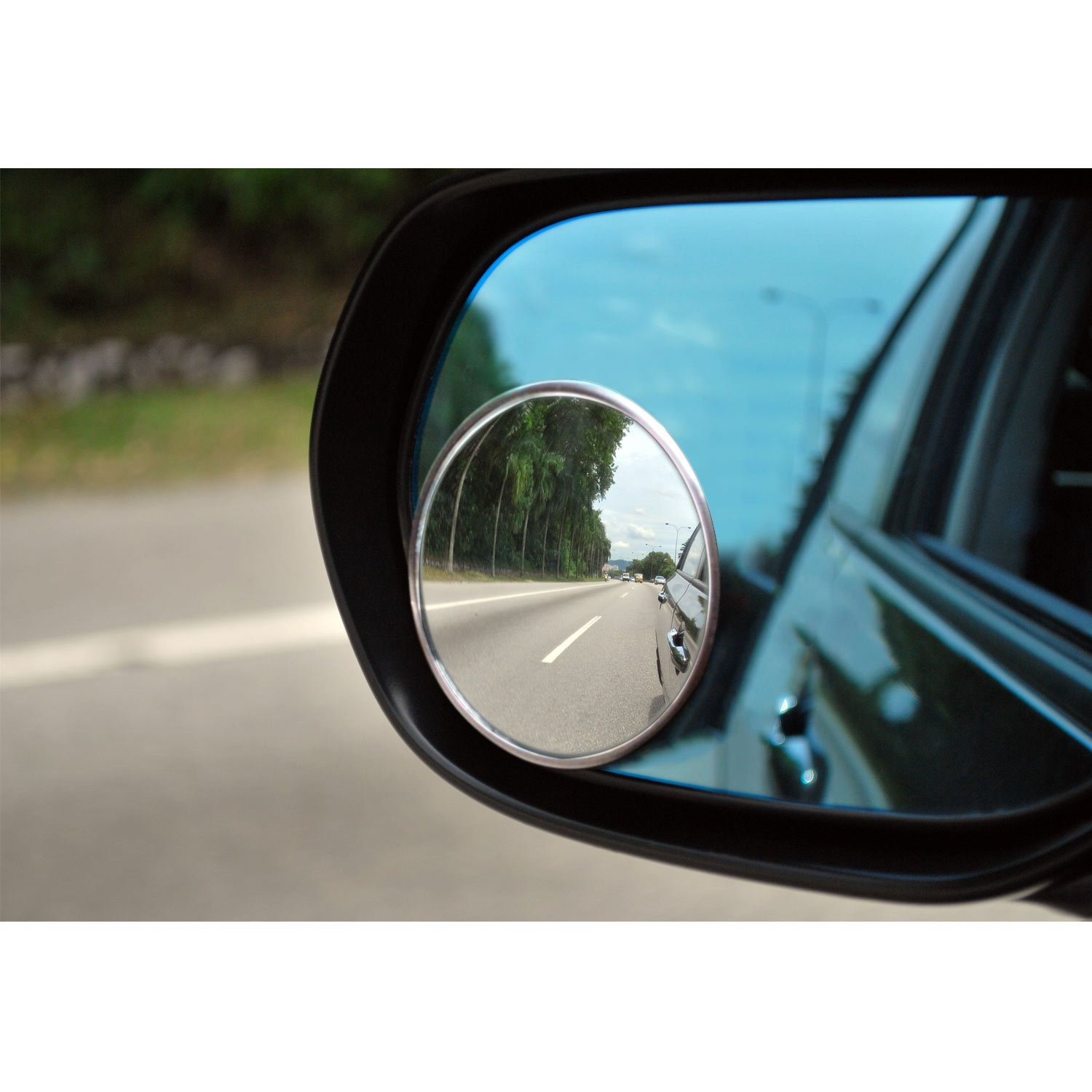 3-3//4 Performance Tool W29C Stick-On Blind Spot Mirror