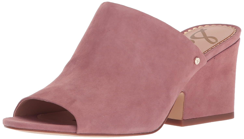 Sam Edelman Women's Rheta Wedge Sandal B071KLCYLX 5 B(M) US|Dusty Rose Suede