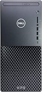 Dell XPS 8940 Tower Desktop Computer - 10th Gen Intel Core i7-10700 8-Core up to 4.80 GHz CPU, 24GB DDR4 RAM, 2TB SSD + 4TB Hard Drive, Intel UHD Graphics 630, DVD Burner, Windows 10 Home, Black
