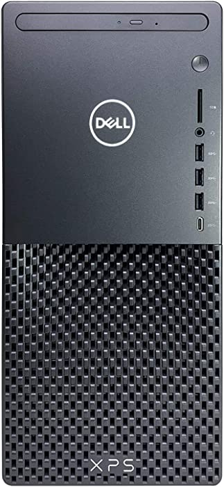 Dell XPS 8940 Tower Desktop Computer - 10th Gen Intel Core i7-10700 8-Core up to 4.80 GHz CPU, 64GB DDR4 RAM, 1TB SSD + 1TB Hard Drive, Intel UHD Graphics 630, DVD Burner, Windows 10 Home, Black