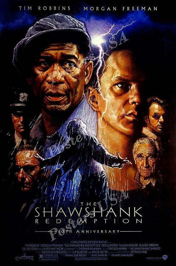 The Shawshank Redemption 8x10 11x17 16x20 24x36 27x40 Movie Poster Vintage A