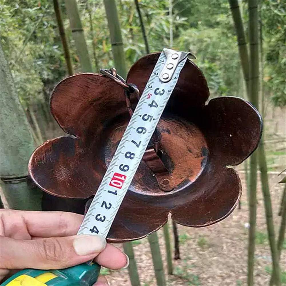 DIYARTS Cadena De Canalón De Lluvia Cadena De Metal Colgador De Flores Kit De Cadena De Lluvia Agua hacia Abajo De La Cadena para La Colección Copa Extensión De Bajante: Amazon.es: Jardín