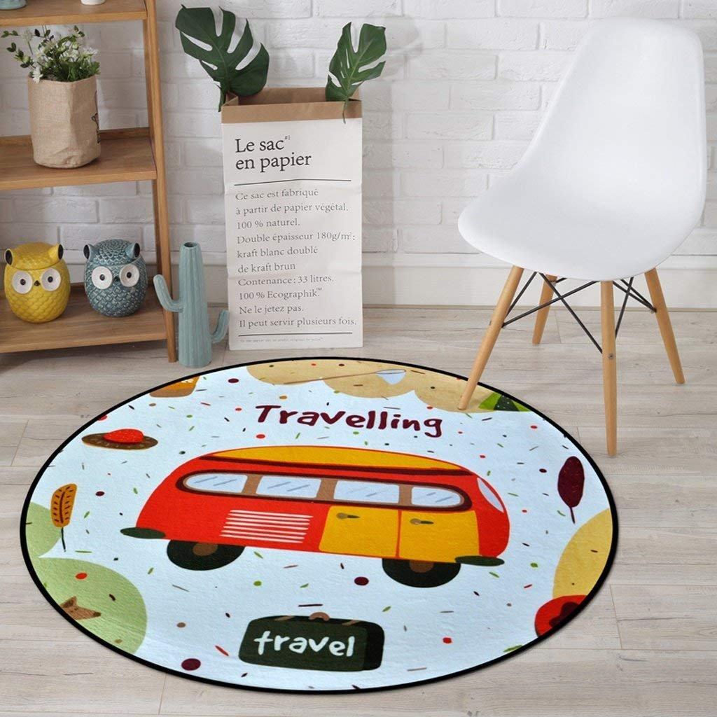 YAN Rug Rug, Carpet, Children'S Cushions Cartoon Living Room Bedroom Rug, Computer Chairs Floor Mat, Home Balconies Hanging Basket Rug