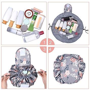 Amazon.com: Bolsa de maquillaje portátil Tinbrot Kit de ...