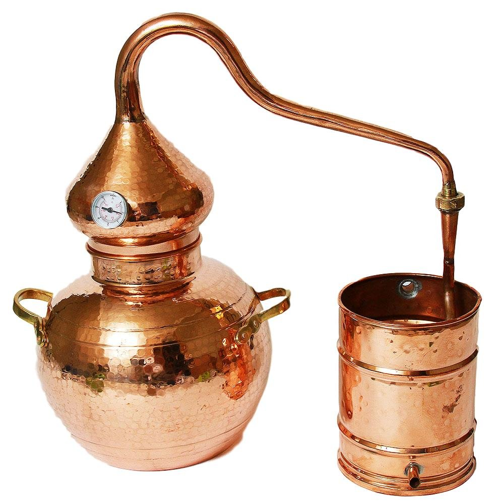 5 Gallon Copper Alembic Still Copper Whiskey Still Corp