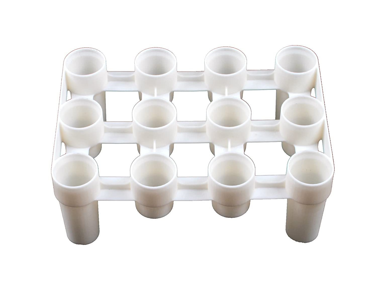 FastRack Bottle Drying Rack - Bottle Drying Tree alternative; Dry & Store your Wine or Bomber/Belgian Bottles; Perfect addition to your Wine Fermentation Kit 1WT