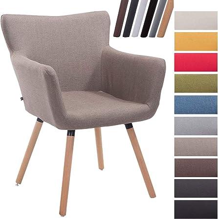 MATERIALES: La silla nórdica cuenta con un agradable acolchado y un tapizado de tela (100% poliéster
