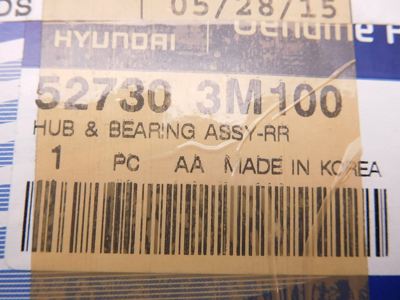 Genuine Hyundai 52730-3M100 Wheel Hub and Bearing Assembly