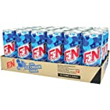 F&N Sparkling Flavoured Drink, Ice Cream Soda, 325ml x 24