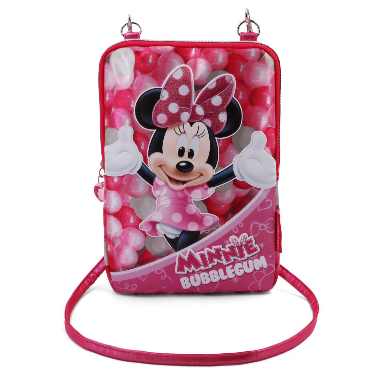 29 cm Rosa Karactermania Minnie Mouse Bubblegum Bolsos Bandolera