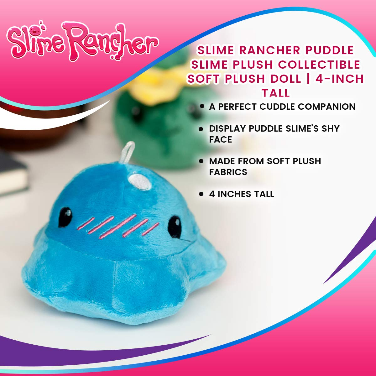 Desconocido Slime Rancher Puddle Slime Plush Collectible ...