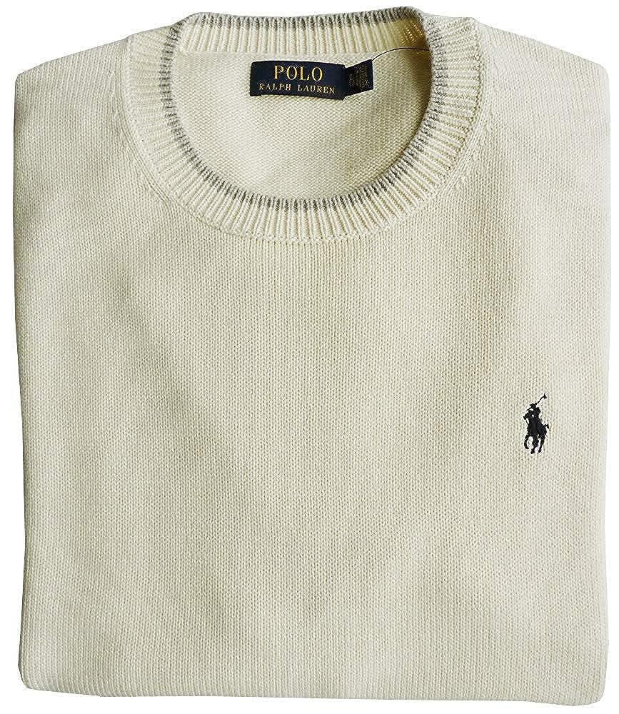 Ralph Lauren Polo Jersey XL, Pony Logo, Chic Cream: Amazon.es ...