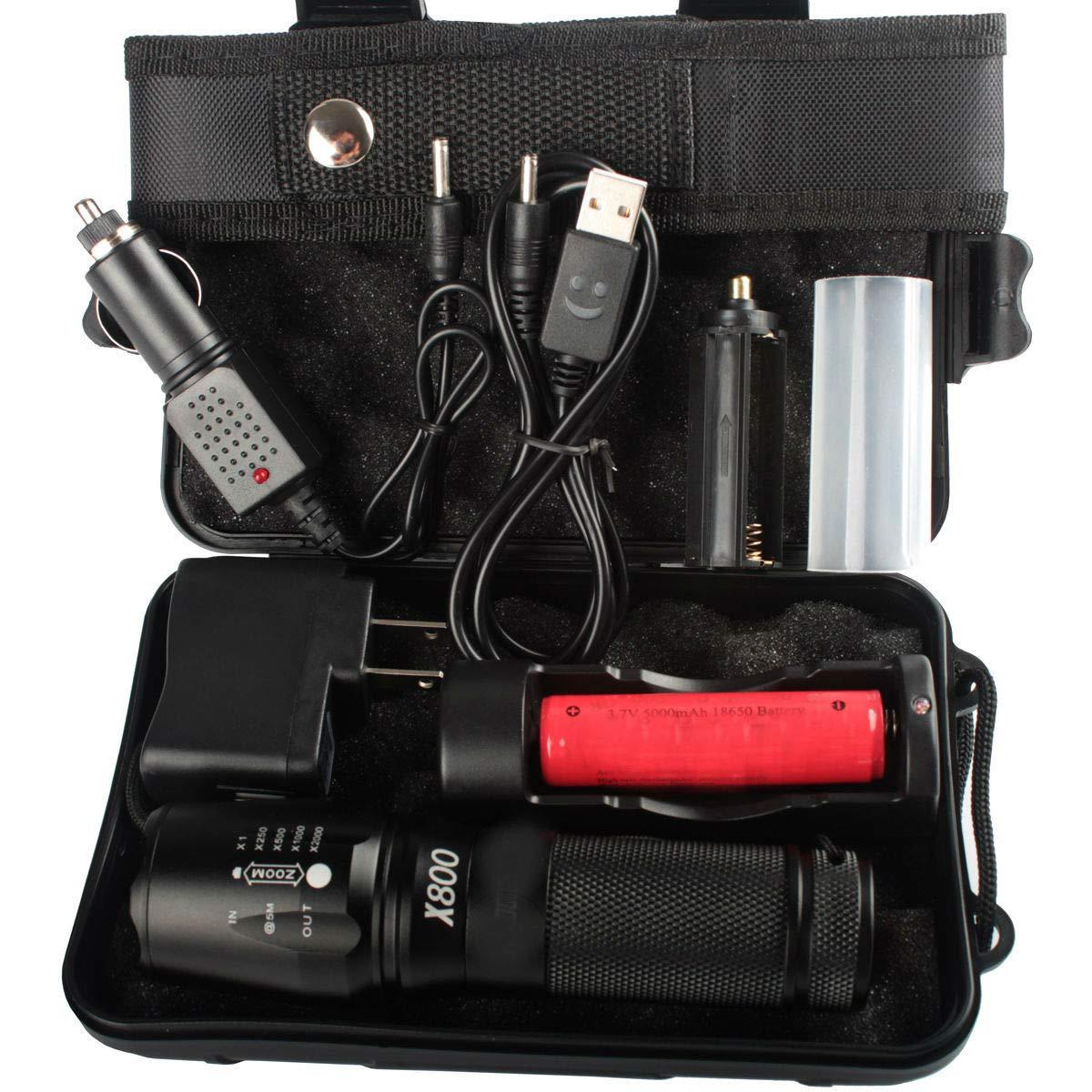 20000LM Genuine Shadowhawk X800 Flashlight XM-L L2 LED MilitaryTactical Torch