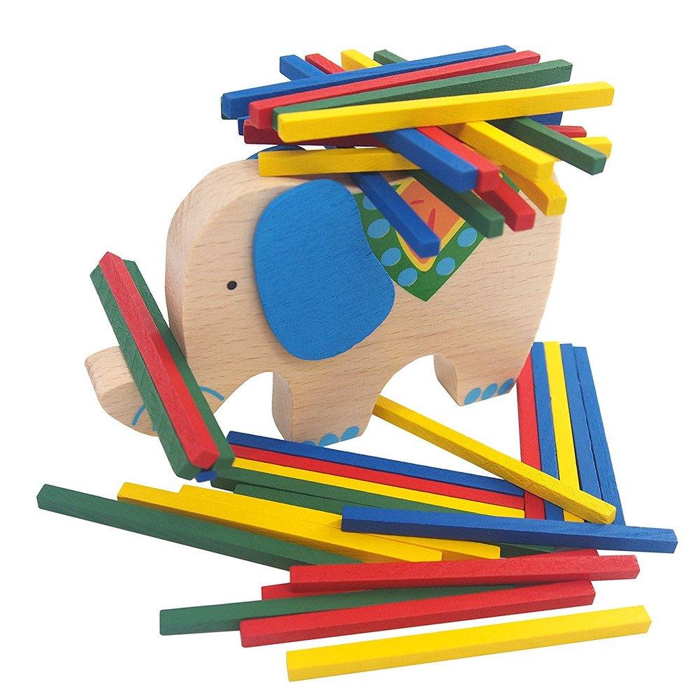 完璧 MyToy木製パズルStacking B075TZ8XRC – Building Blocks Blocks – おもちゃ幼児教育バランシングカラフルブロック脳開発 – バランスボードテーブルゲーム40 Pieces B075TZ8XRC, 別海町:12580d4f --- a0267596.xsph.ru