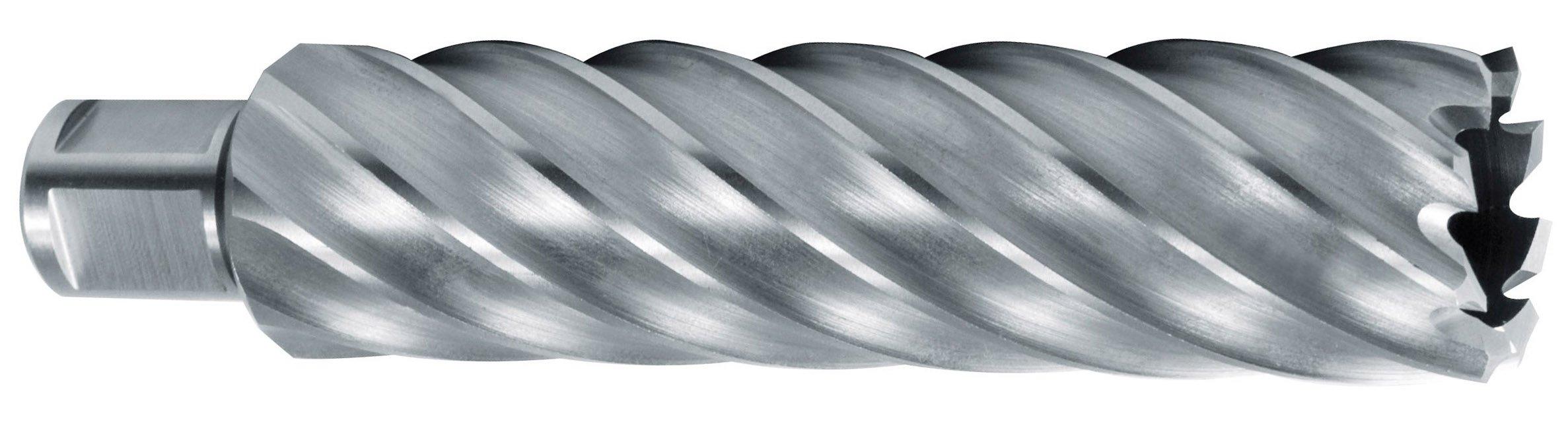 'RUKO 1082022-HSS Core Bit with Weldon Shank (3/4), Full Ground CBN, Cutting Depth 110mm (22x 19mm)