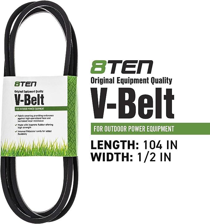 8TEN Deck Belt GX20072 John Deere Sabre L110 111 118 LA110 120 X105 GY20570