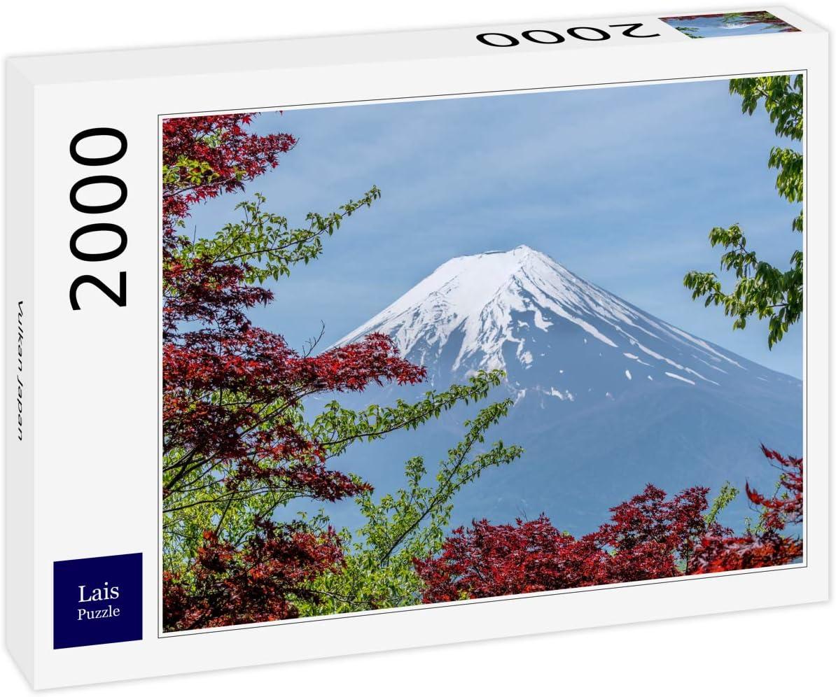 Lais Puzzle Volcán Japón 2000 Piezas: Amazon.es: Juguetes y juegos