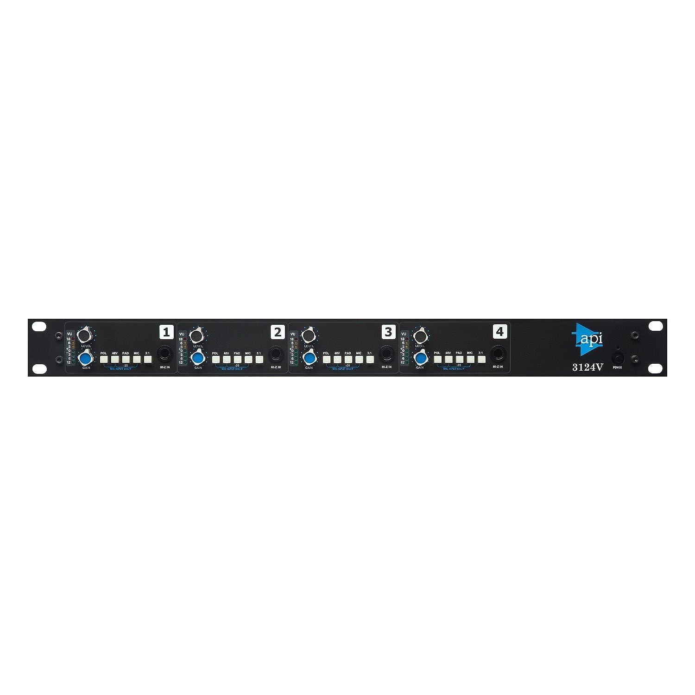 Amazon com: API 3124V Discrete 4-Channel Mic/Line Preamp: Musical