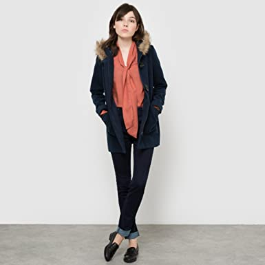 La Redoute Manteau Femme Bleu Marine 36: