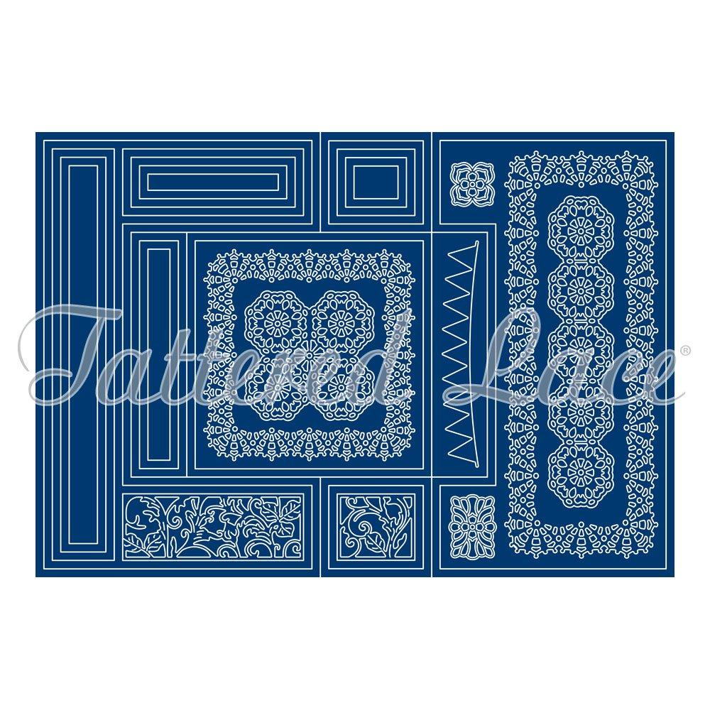 Tattered Lace Tri-Fold - Big Beautiful Set ETL593 by Tattered Lace