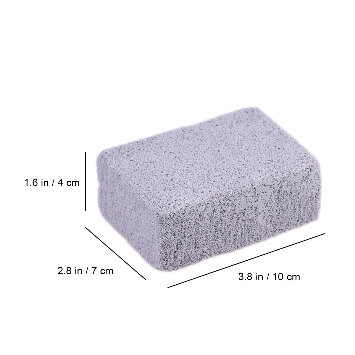 BESTOMZ Piedra Pómez Stone Care Scrubber Stone Grill Cleaning Block: Amazon.es: Hogar