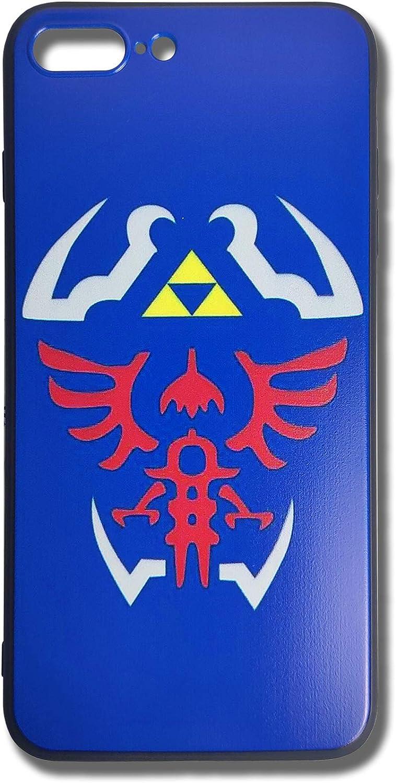 LLJIUJIU The Legend of Zelda Hylian Shield Phone Case for iPhone 7 Plus & iPhone 8 Plus