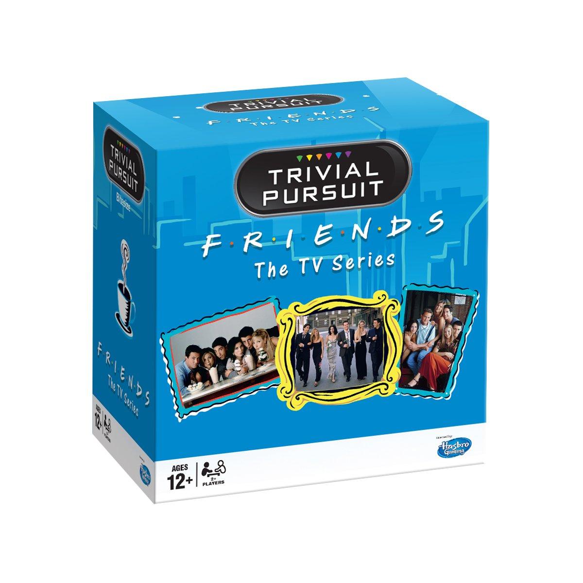 Friends Trivial Pursuit Quiz Game - Bitesize Edition Winning Moves 27342