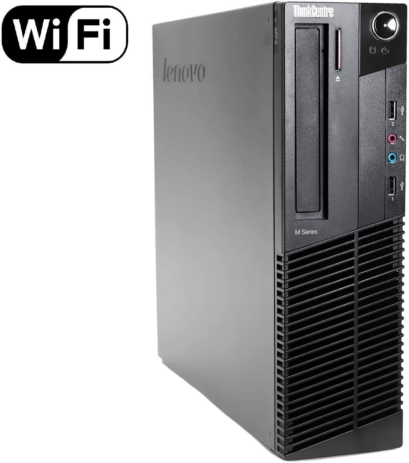 Lenovo ThinkCentre M82 Desktop - Intel Core i5-3470 up to 3.6GHz, 16GB DDR3, 128GB SSD, DVD, Windows 10 Professional (Renewed)