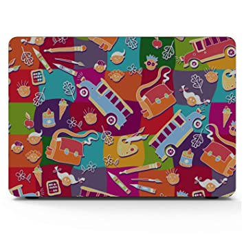 MacBook Air Covers School Bag Children Backpack Ideas Plastic Hard Shell Compatible Mac Air 11 Pro 13 15 Mac Book Pro Cover Protection for MacBook 2016-2019 Version