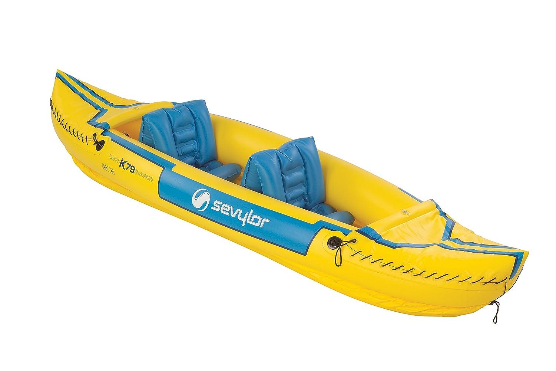 Sevylor Tahiti Classic Inflatable Kayak by Sevylor: Amazon ...