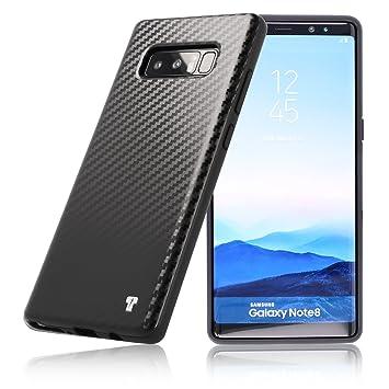 Samsung Galaxy Note 8 Caso Negro PULSARplus® Flexible TPU ...