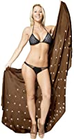 Sarong Bathing Suit Pareo Wrap Bikini Cover up Womens Rayon Swimsuit Swimwear