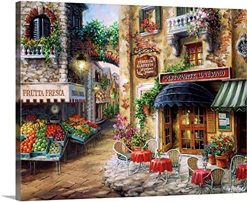 BUON Appetito Canvas Wall Art Print