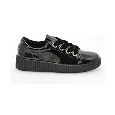 541826207e SixtySeven Shoe Laces Velvet, 78 Black Size: 5: Amazon.co.uk: Shoes ...