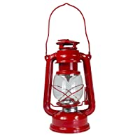 Dimmable ~ Lightweight Hurricane Lantern Lamp 15 LED Light ~ Choice of Colours