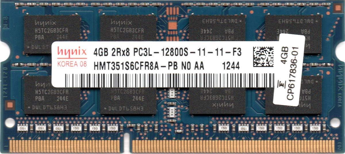 Hynix 4GB 2RX8 PC3-12800S DDR3 1600MHz 204Pin SODIMM Notebook Laptop Memory CL11