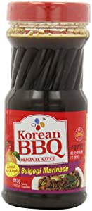 CJ Korean BBQ Sauce - Bulgogi, 29.63-Ounce Bottles (Pack of 4)