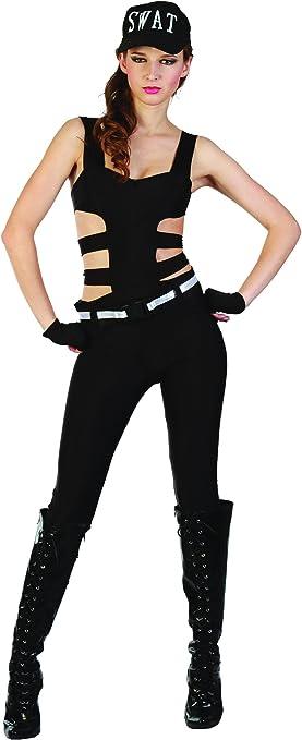 Disfraz SWAT mujer M: Amazon.es: Juguetes y juegos