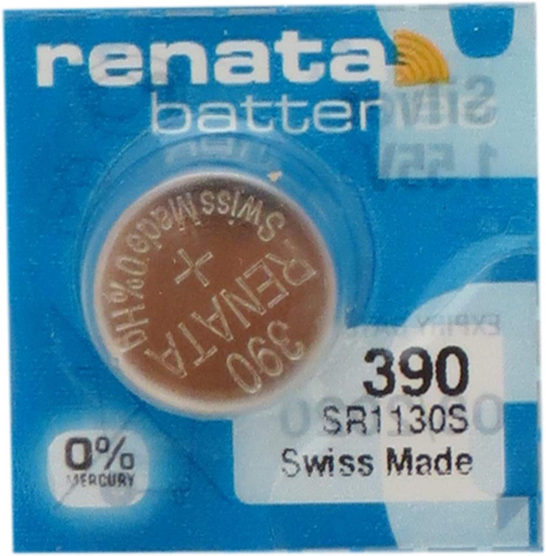 390 / SR54 Renata Silver Oxide Button Batteries (50)