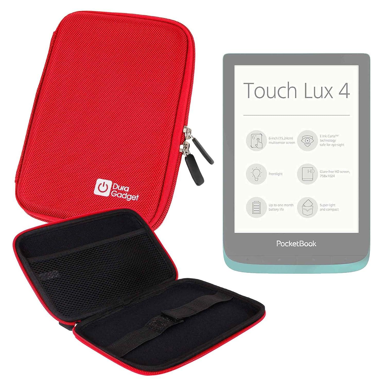 VivlioTouch DURAGADGET Coque Bleue Rigide pour Tea Touch Lux 4 - r/ésistant /à leau // Touch Lux 3 et Touch HD Plus Liseuse//eBook Vivlio