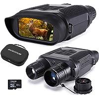 Prismáticos Digital de Visión Nocturna para la Caza, 7x31 con Cámara Infrarroja TFT LCD HD de 4 Pulgadas y Videocámara…