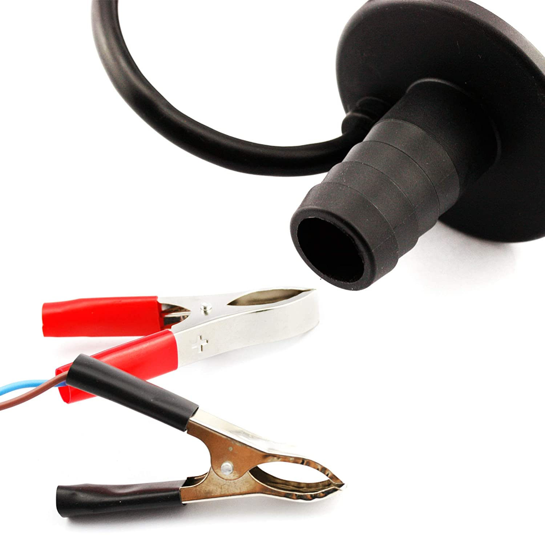 YINETTECH Pompe de Transfert 12V DC Haute Vitesse diam/ètre 5 cm en Acier Inoxydable
