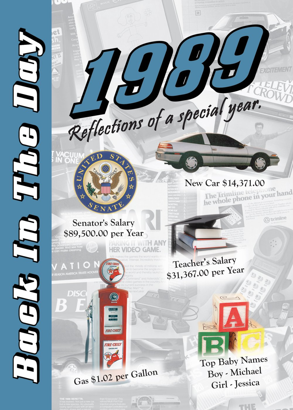 Download 1989 Back In The Day Almanac -- 24-page Booklet / Greeting Card ebook