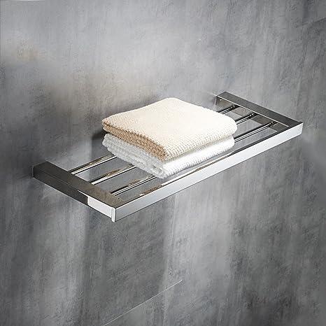 Baldas de baño Estante Towel Rack Fold Toilet Estante de ...