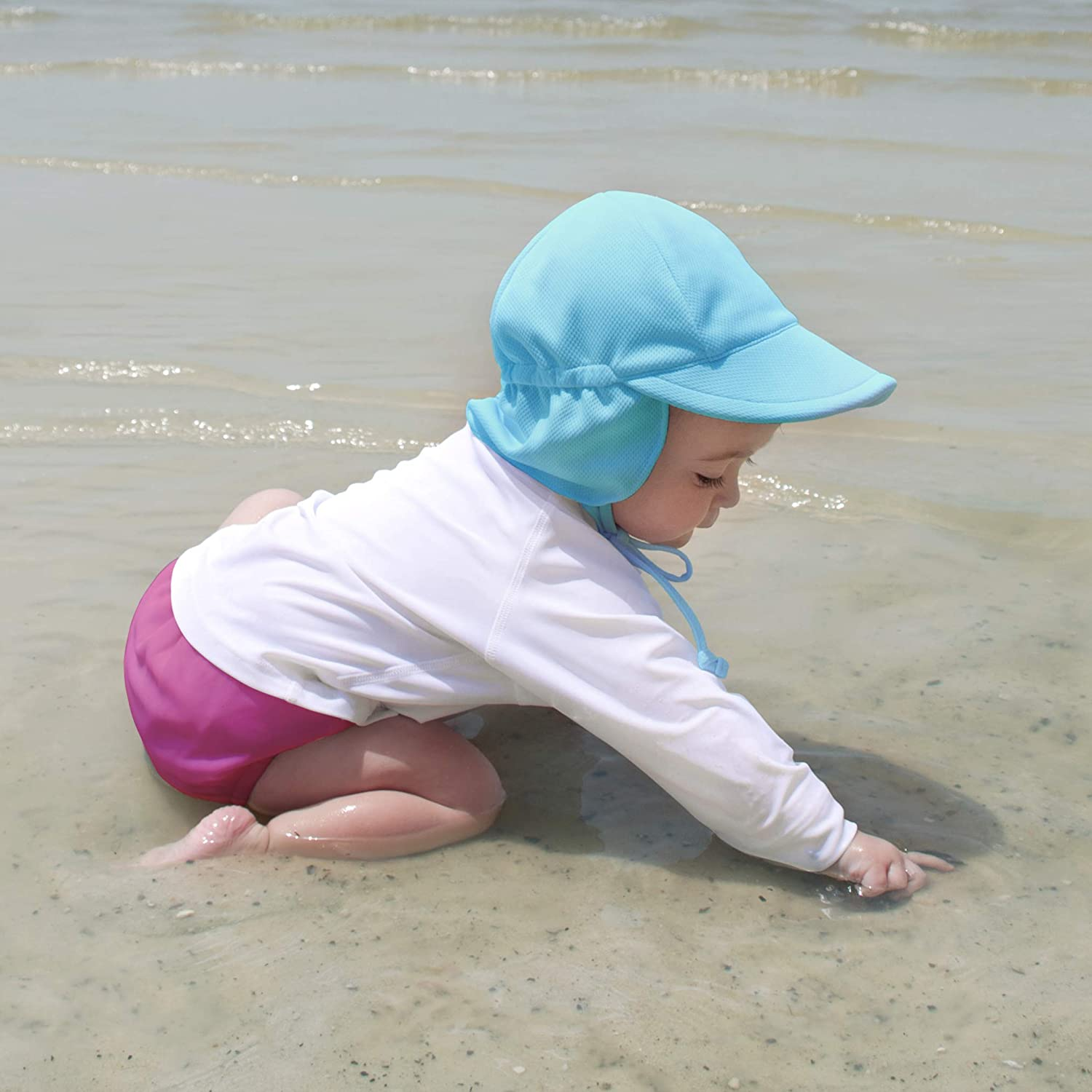 No other diaper necessary Snap Reusable Swim Diaper i play UPF 50+ protection